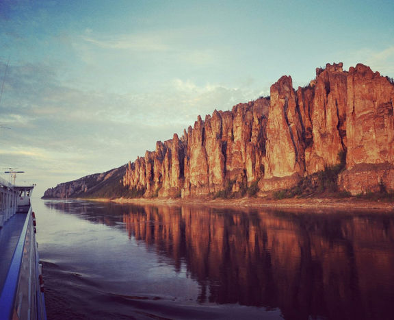 Arctic Cruise on a Great Siberian River